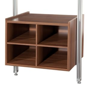 View Walnut Effect Drawer Box (H)384mm (W)550mm (D)500mm details