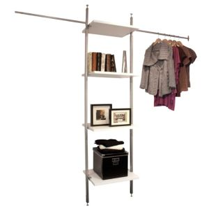 View Aura White Wardrobe Storage Kit details