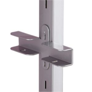 View Stainless Steel Effect Aura Wardrobe Bracket details