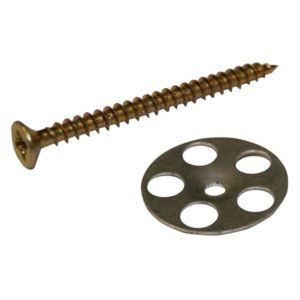 View Aquadry Wetroom Washer & Screw (W)45mm (L)25, Pack of 50 details