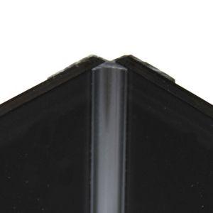 Image of Vistelle Black Panel internal corner joint (L)2500mm