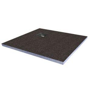 Aquadry Corner Drain Shower Tray Former Kit (L)1200mm (W)1200mm