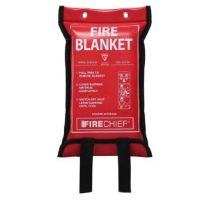 Image of Firechief 1m x 1m Fire blanket (W)170mm (H)300mm