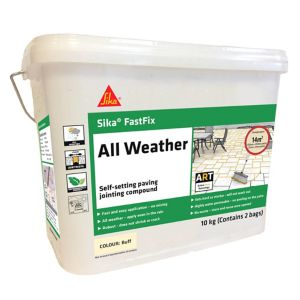 Image of Sika FastFix Buff Ready mixed Paving Grout 10kg Bag