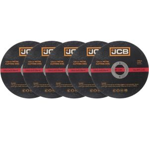 View JCB (Dia)125mm Metal Cutting Disc, Pack of 5 details