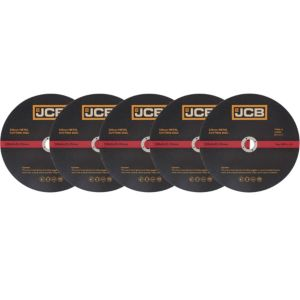 View JCB (Dia)230mm Metal Cutting Disc, Pack of 5 details