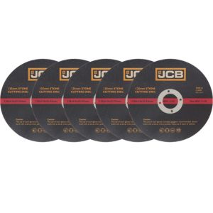 View JCB (Dia)125mm Stone Cutting Disc, Pack of 5 details
