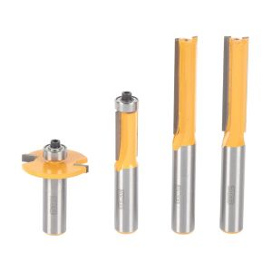 View JCB 12.7mm Shank Router Bit, Pack of 4 details