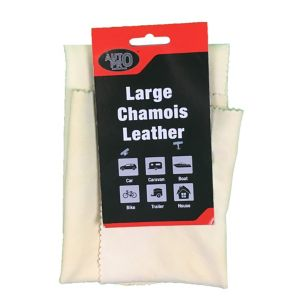 Image of AutoPro accessories Large Leather Chamois