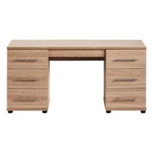 View Consort Vermont Dressing Table (H)662mm (W)1.374m (D)424mm details