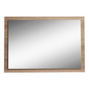 View Consort Vermont Oak Effect Rectangular Mirror (L)462mm (W) 670mm details