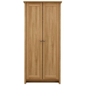 View Manor Oak Effect 2 Door Wardrobe details
