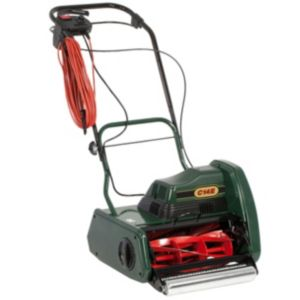 View Webb C14E Self Propelled Cylinder Lawnmower details