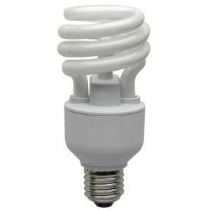 View Buster Edison Screw Cap (E27) 20W Fluorescent Spiral Light Bulb details