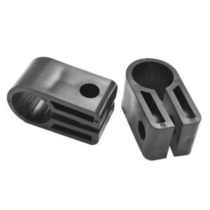 Image of CORElectric Black 4mm Cable cleat Pack of 25