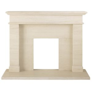 View President Grey Limestone (H)1.087 (W)1.372m Surround Set details