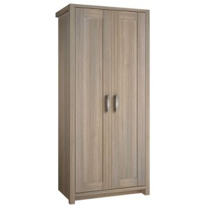 View B&Q Elise Oak Effect 2 Door Wardrobe details
