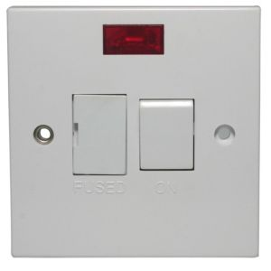 Image of Propower 13A Switched Fused Connection Unit with Neon