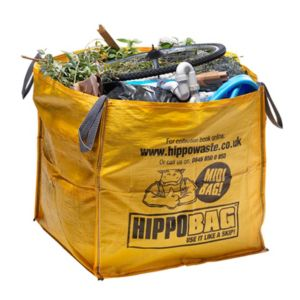 View Hippobag Yellow Rubble Sack (H)900mm (W)900mm (L)900mm details