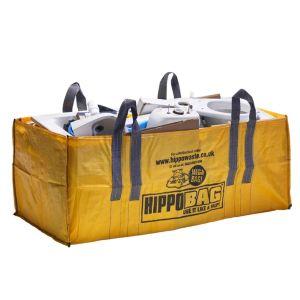 View Hippobag Yellow Rubble Sack (H)900mm (W)900mm (L)180mm details
