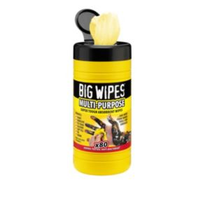 View Big Wipes Industrial Wipes, Pack of 80 details