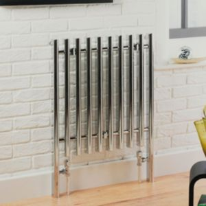 View Kudox Vertice Radiator Chrome Polished, (H)800 mm (W)600 mm details