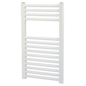 View Kudox Flat Mains Towel Warmer White (H)550 (W)400mm details