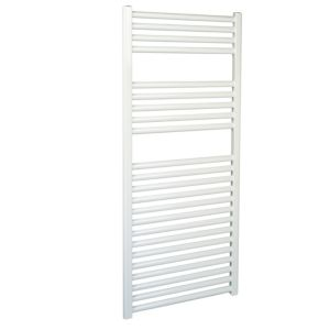 View Kudox Flat Towel Warmer White (H)1100 (W)500mm details