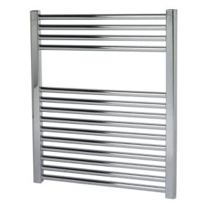 View Kudox Flat Towel Warmer Chrome (H)700 (W)600mm details