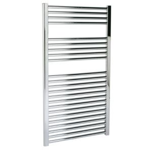 View Kudox Flat Towel Warmer Chrome (H)1100 (W)600mm details