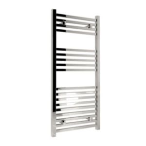 View Kudox Sevilla Mains Towel Warmer Chrome Plated (H)974 (W)450mm details