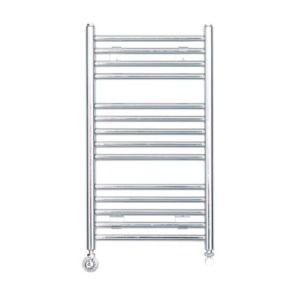 View Kudox Flat Ladder Towel Warmer Chrome (H)700 (W)400mm details