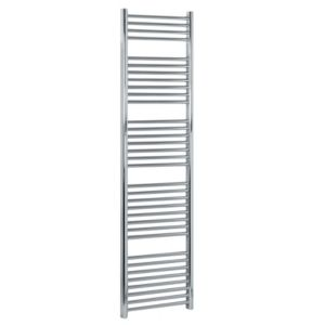 View Kudox Flat Ladder Towel Warmer Chrome (H)1674 (W)450mm details