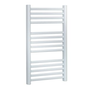 View Kudox Flat Ladder Towel Warmer White (H)700 (W)400mm details