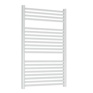 View Kudox Flat Ladder Towel Warmer White (H)974 (W)600mm details