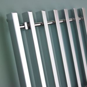 View Kudox Filomena Towel Warmer Chrome (H)800 (W)600mm details