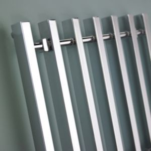 View Kudox Filomena Towel Warmer Chrome (H)800 (W)800mm details