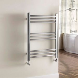 View Kudox Timeless Towel Warmer Chrome (H)700 (W)500mm details