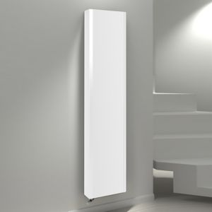 View Kudox Vertical Radiator White, (H)1800 (W)600mm details