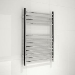 View Kudox Lugana Flat Towel Warmer (H)750 (W)500mm details