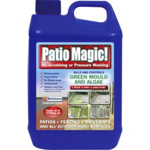 View Brintons Patio Magic Concentrate Patio & Driveway Cleaner 5L details