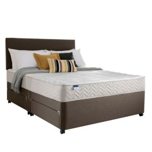 View Silentnight Miracoil Micro Quilted Kingsize Mattress & Divan Set details