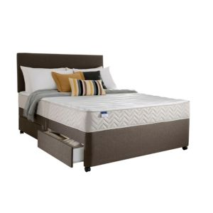 View Silentnight Miracoil Micro Quilted Super Kingsize 2 Drawer Mattress & Divan Set details