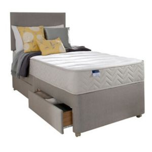 View Silentnight Miracoil Memory Fibre Single 2 Drawer Mattress & Divan Set details