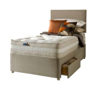 View Silentnight Mirapocket Classic 1200 Single 2 Drawer Mattress & Divan Set details