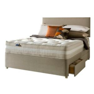 View Silentnight 1200 Mirapocket Classic Super King Size 4 Drawer Mattress & Divan Set details