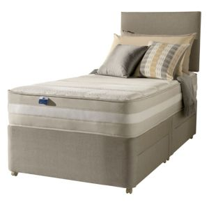 View Silentnight 1200 Mirapocket Latex Single Mattress & Divan Set details
