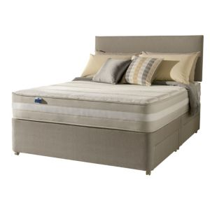 View Silentnight 1200 Mirapocket Latex Kingsize Mattress & Divan Set details
