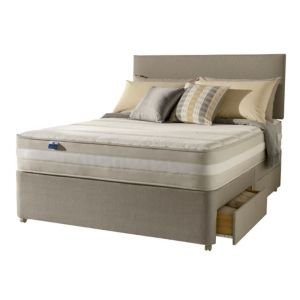View Silentnight 1200 Mirapocket Latex King Size 2 Drawer Mattress & Divan Set details