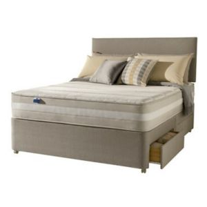 View Silentnight 1200 Mirapocket Latex Kingsize 4 Drawer Mattress & Divan Set details